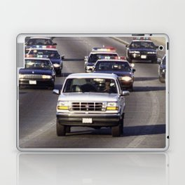 OJ Simpson Car Chase Laptop & iPad Skin