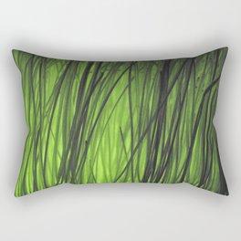 Green grass Rectangular Pillow