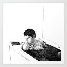 EVAN PETERS Art Print
