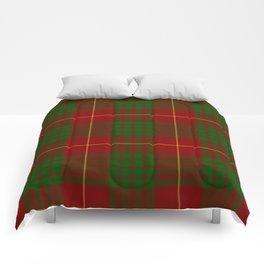 Cameron Red & Green Tartan Pattern #2 Comforters