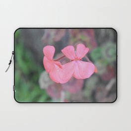 Pink Geranium Laptop Sleeve