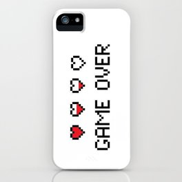 Game Over - Pixels iPhone Case