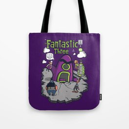 Fantastic Three Tote Bag