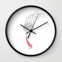 Fourquette Wall Clock