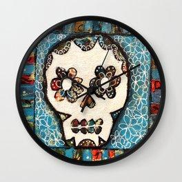 Dia de Muertos Wall Clock