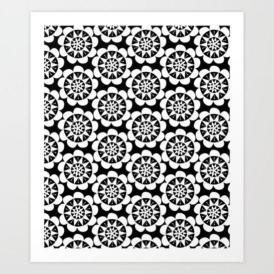 pattern36 Art Print