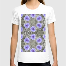 Love in the Mist - Floral Photography by Fluid Nature T-shirt