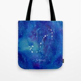 Constellation Scorpius Tote Bag