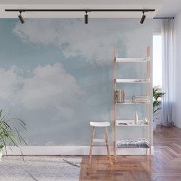 summer clouds Wall Mural