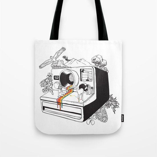 Captured Nostalgia Tote Bag