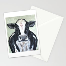 Holstein Cow Stationery Cards