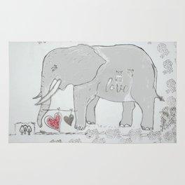 Elephants love Rug