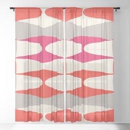 Zaha Type Sheer Curtain