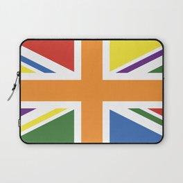 RAINBOW PRIDE UK FLAG LBGT LBGT+ LBGTQB+ Laptop Sleeve