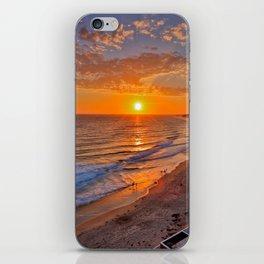 Crystal Cove Sunset   7-11-14 iPhone Skin