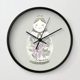 Nouvelle Cuisine 1 Wall Clock