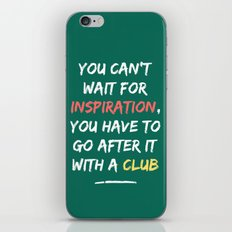 Go After Inspiration With A Club iPhone & iPod Skin