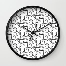 Cute ghosts Wall Clock