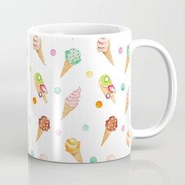 Cool Sweets / Watercolor Ice Cream Coffee Mug