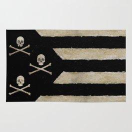 Cut Skull Flag Rug