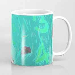 Drown in the now Coffee Mug