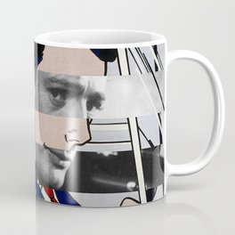 "Roy Lichtenstein's ""In the car"" & Marcello Mastroianni with Anita Ekberg Coffee Mug"