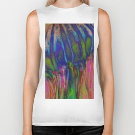 Electric Jellyfish Biker Tank