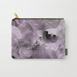 Floating Roses & Clouds Carry-All Pouch