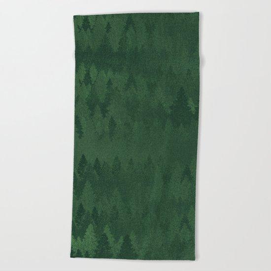 TREE LINE Beach Towel