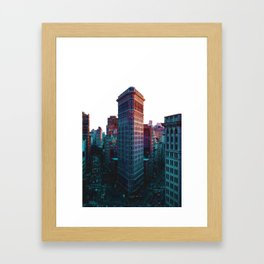 Flatiron Building New York City Framed Art Print