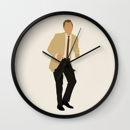 Rick dancing Once Upon a Time in Hollywood film Wall Clock