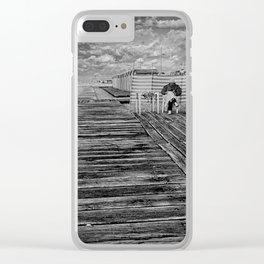 à la plage Clear iPhone Case