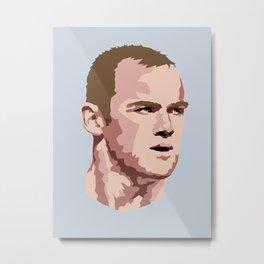 Rooney Metal Print