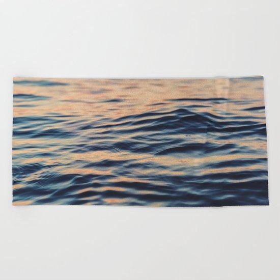 Calm Ocean Beach Towel