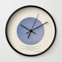 The Talk Wall Clock
