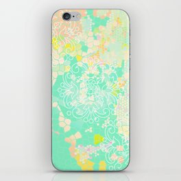 floral 011. iPhone Skin