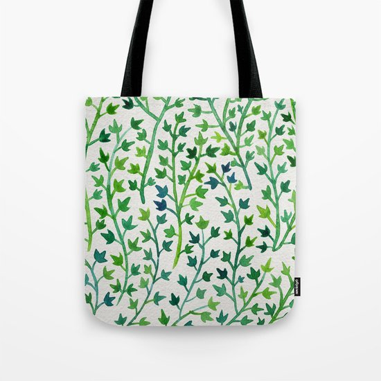Summer Ivy Tote Bag