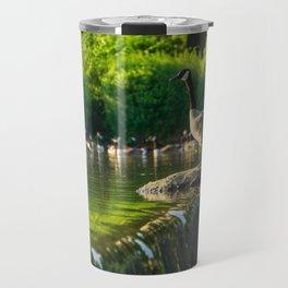 A Gaggle of Geese Travel Mug