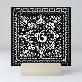 Ek Onkar / Ik Onkar Black and white #1 Mini Art Print