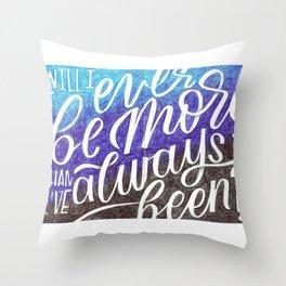 Waving Through A Window Throw Pillow