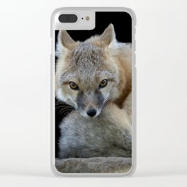 Eyes of the Fox Clear iPhone Case