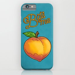 Bite Me iPhone Case