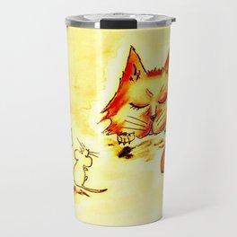 When the Cat's Away Travel Mug