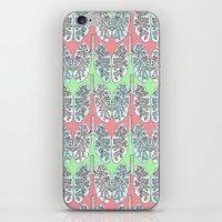 lungs iPhone & iPod Skins featuring Lungs by Charlotte Goodman