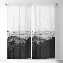 On the Rocks  Blackout Curtain
