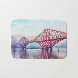 Forth Bridge, Scotland Bath Mat
