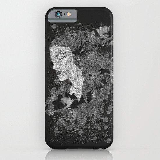 Cosmic dreams (B&W) iPhone & iPod Case