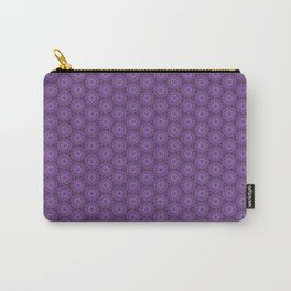 Geometric Flower Pattern 10 Carry-All Pouch