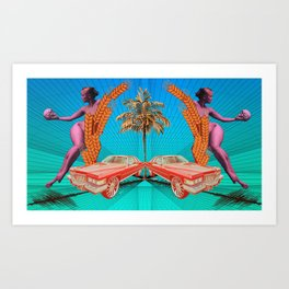 Second Guess Art Print