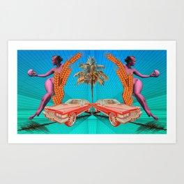 Second Guess Art Print